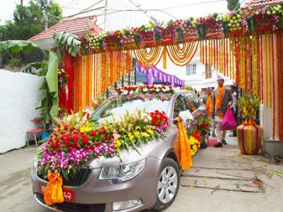 Wedding Car Rental in Kathmandu